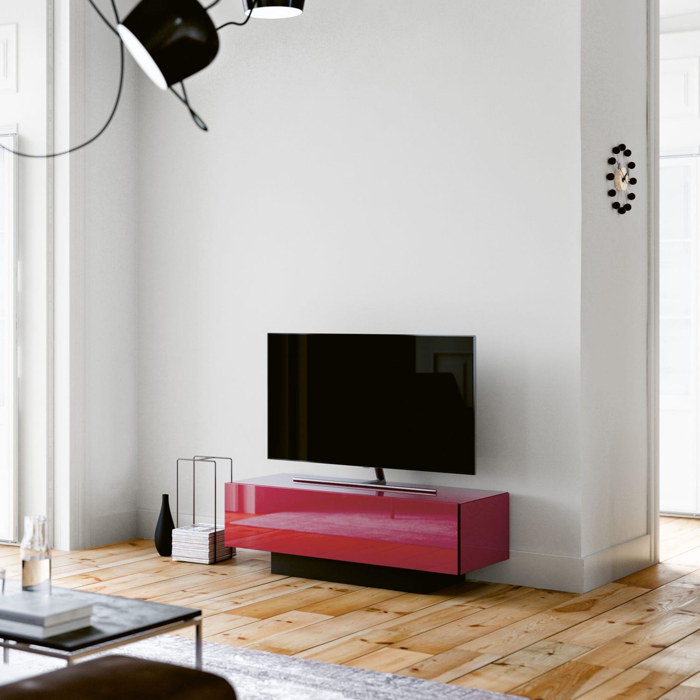 Mobile Porta Tv Con Audio Surround Integrato.Mobile Porta Tv Moderno Con Altoparlanti Integrati In Vetro