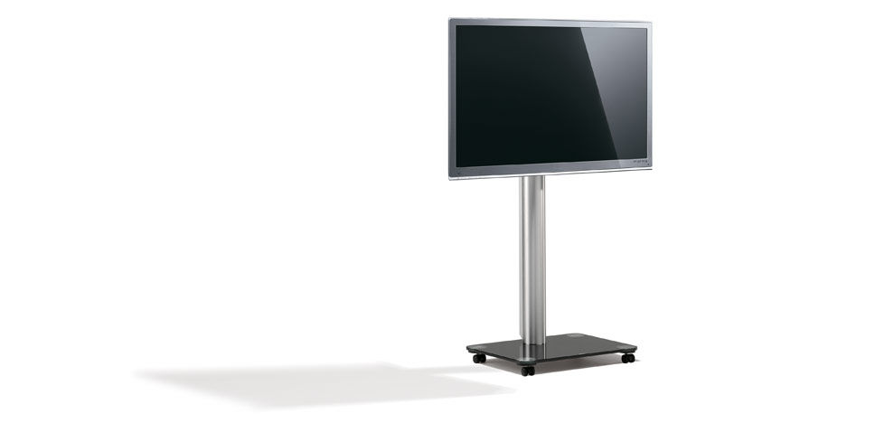 Spectral Porta Tv.Supporto Per Tv Da Terra Moderno Con Moderno Rotelle