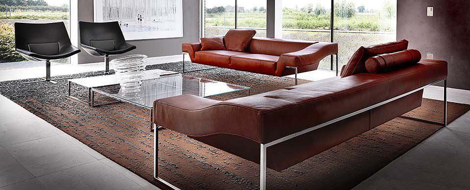 Divani Moderni In Pelle Design.Divano Moderno Open Space Molinari Design Srl In Pelle 2