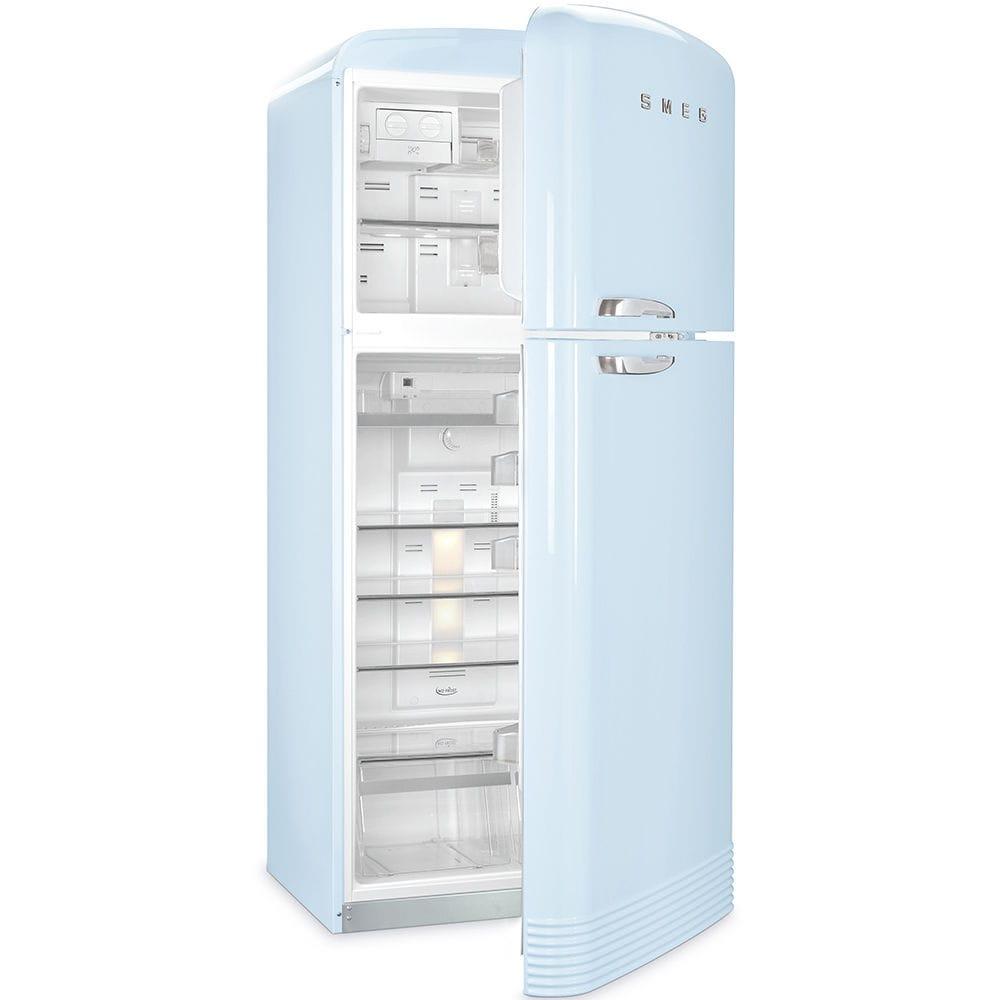 Frigorifero combinato con congelatore alto / edificio ...