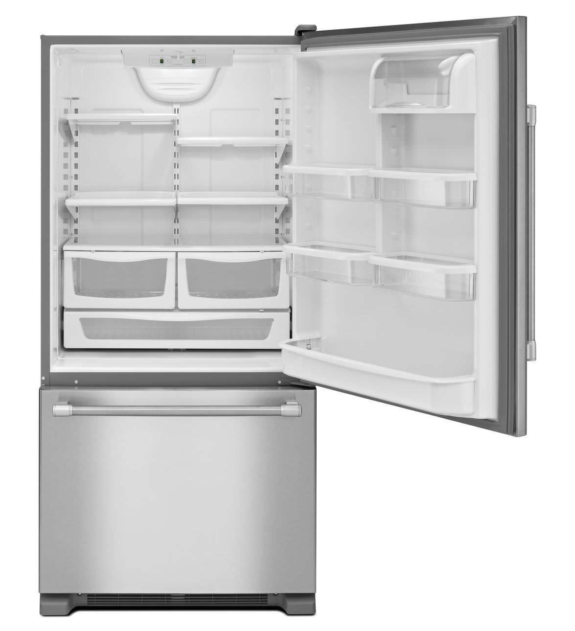 Frigorifero combinato con congelatore basso / edificio ...