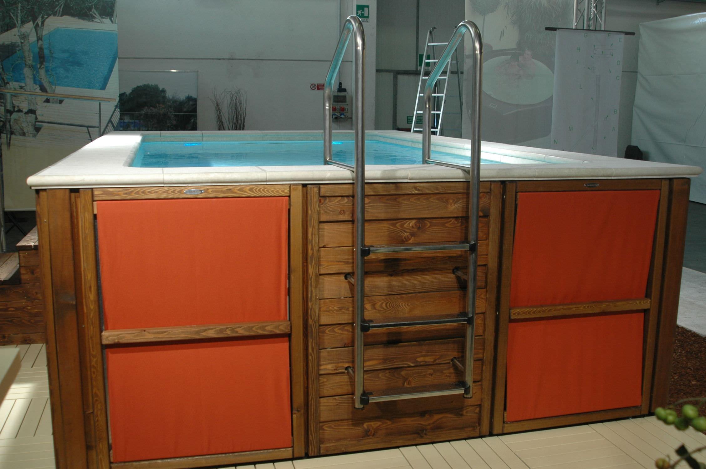 Piscine Da Esterno Rivestite In Legno piscina sistema completo - dolce vita - laghetto