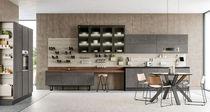 Cucina moderna / in Fenix NTM / in PET / in alluminio