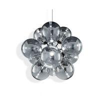 Lampadario moderno / in metallo / LED