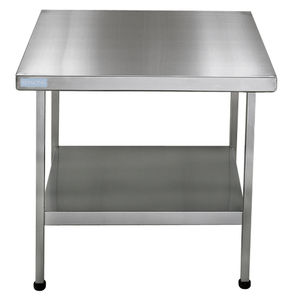 piano di lavoro in acciaio inossidabile / contract / da cucina