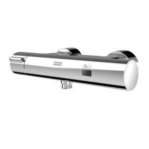 miscelatore da doccia / da parete / in ottone cromato / termostatico
