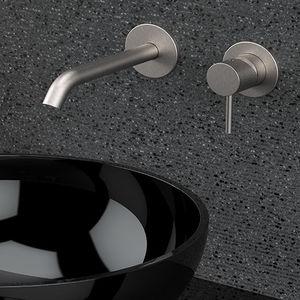 miscelatore per lavabo / per lavamani / da parete / da incasso