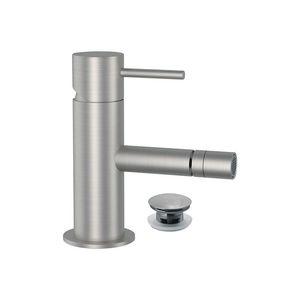 miscelatore per bidet / da bancone / in acciaio inox / da bagno