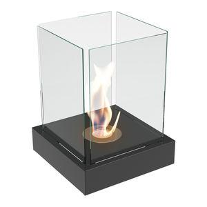bruciatore a bioetanolo quadrato