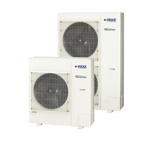 pompa di calore aria-acqua / residenziale / da esterno / reversibile