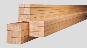 trave epicea / in legno lamellare / a sezione rettangolare