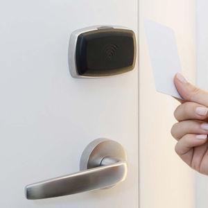 serratura RFID / meccanica / elettronica / per porta