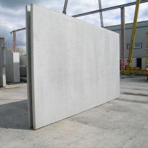muro a doppia lastra in cemento armato / di fondazione