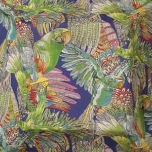 tessuto da tappezzeria / per tende / con animali / in cotone