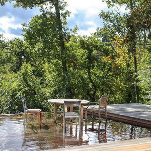fondo mobile per piscina in legno