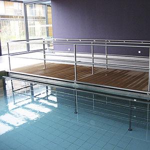 fondo mobile per piscina terapeutica