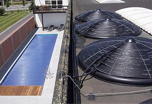 collettore termico per riscaldamento di piscina