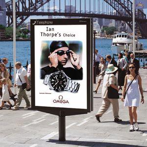 cartello pubblicitario da esterno