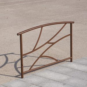 barriera di protezione / fissa / in acciaio / per spazio pubblico