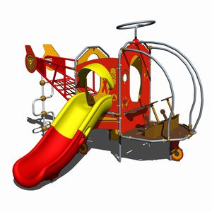 veicolo per parco giochi