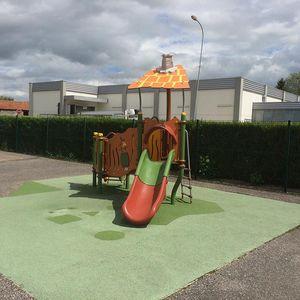struttura ludica per parco giochi / in plastica / in acciaio / in HPL