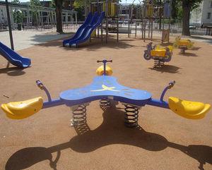 gioco a molla in plastica / in HDPE / 3 posti