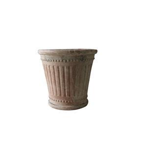 vaso da giardino in terracotta / conico