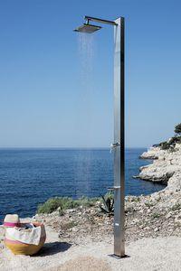 doccia da giardino in acciaio inossidabile
