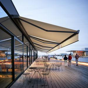 tenda da sole a cassonetto / a motore / per terrazza / da balcone
