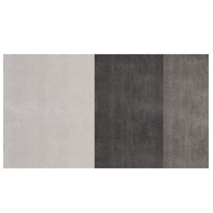 tappeto moderno / a righe / in lana / in viscosa
