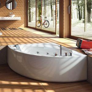 vasca da bagno d'angolo