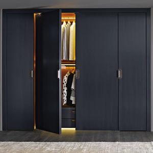 armadio moderno / in legno / con ante battenti / di Antonio Citterio