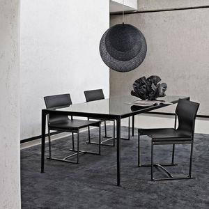 tavolo moderno / in vetro / in marmo / in MDF