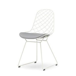sedia moderna / in alluminio / da esterno / di Patrick Norguet