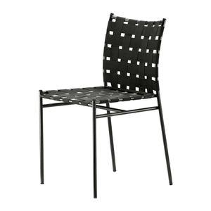 sedia moderna / con braccioli / impilabile / riciclabile