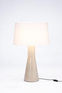 lampada da tavolo / moderna / in tessuto / in marmo