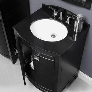 piano lavabo in granito