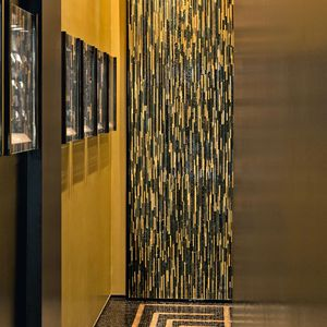 mosaico da interno / da parete / in vetro / in marmo