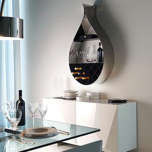 mensola / design originale / in acciaio inossidabile / in acciaio laccato