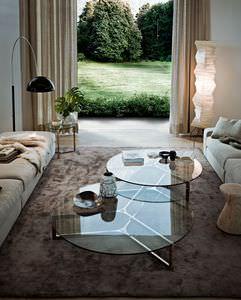 tavolino basso moderno / in vetro / in alluminio / in acciaio inossidabile
