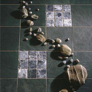 piastrelle da interno / da pavimento / in ardesia / 10x10 cm