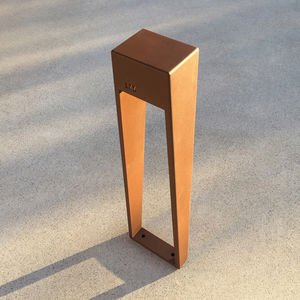 lampioncino da giardino / per spazio pubblico / moderno / in acciaio inossidabile