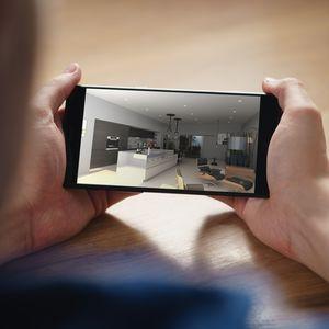 software di progettazione / di progettazione di interni / realtà virtuale / per cucina