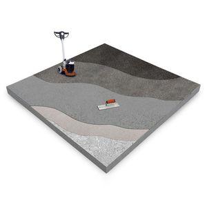 pavimentazione in calcestruzzo / per il settore terziario / liscia / levigata