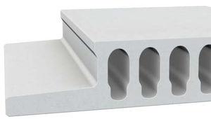 lastra per solaio in cemento armato / per tetto / alveolata / antifiamma