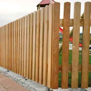recinzione da giardino / a sbarre / in acciaio inox / in pino