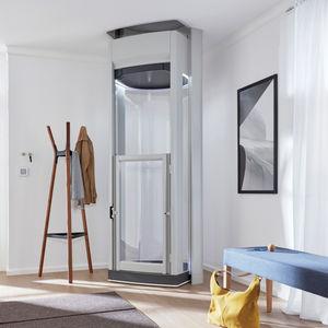 ascensore elettrico / ad uso residenziale / senza locale macchine / panoramico