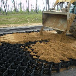 geocella per stabilizzazione del terreno