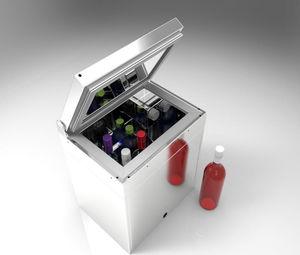 frigorifero professionale / a pozzetto / in metallo / da giardino