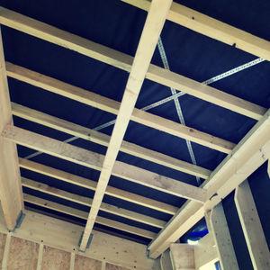 trave in legno massiccio / a I / per solaio / per carpenteria